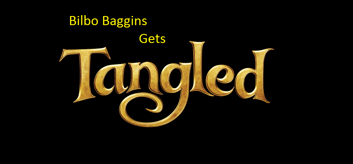 Bilbo Baggins Gets Tangled