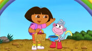 Dora and boots on Best Friends Day.jpg
