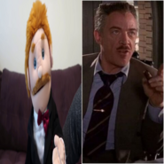Mr. Goodman as J. Jonah Jameson