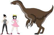 Riley and Elycia meets Nothronychus
