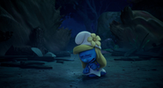 Smurfette starts crying in the lost village.png