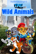 The Wild Animals (The Smurfs) 1 Poster