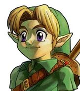 Young Link in The Legend of Zelda - Ocarina of Time