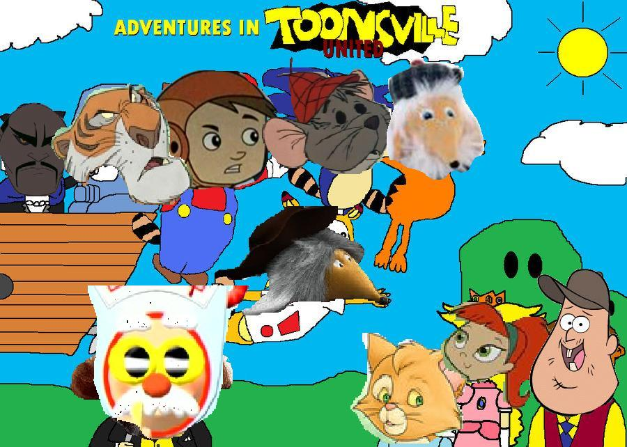 Adventures in Toonsville United (Disney and Sega Style)