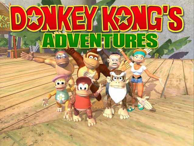 Donkey Kong's Adventures Series