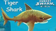 Hungry shark world tiger