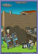Noah's Ark Bullfrogs Beavers Elephants Mice Mallards and Ducks
