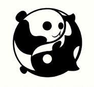 Panda Orca Yin Yang