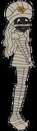 Sally Spacebot mummy form thenightmarebeforechristmas in thespacebotsadventuresseries