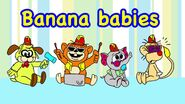 The Banana Splits as babies