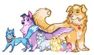 The Mane Pets by Earthsong9405