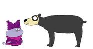 Chowder meets Andean Bear