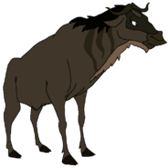 Princess Tilana Spacebot wildebeest form thelionking2simbaspride in thespacebotsadventuresseries