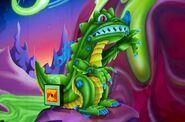 Reptile Monster Laser Blast Version