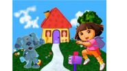 The Dora and Blue Show - Dora and Blue's house (with Mailbox)