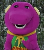 Barney in Barney's Night Before Christmas