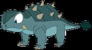 Brody as young thetarbosaurusguard
