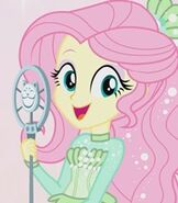 Fluttershy in My Little Pony- Equestria Girls Better Together