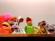 Kermit and Muppet animals sing in Wow, You're a Cartoonist!