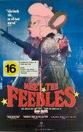 Meet the Feebles (Disney and Sega Animal Style) 1990 VHS Cover NZ
