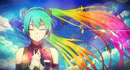 Rainbow of music hatsune miku by 34kai-d81czd0