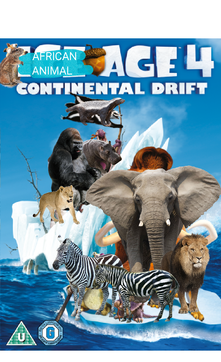African Animal Age 4: Continental Drift