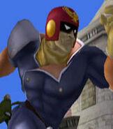 Captain Falcon in Super Smash Bros. Melee