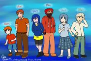 Finding Dory Animaeized and Humanized