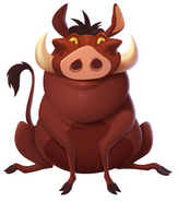 Pumbaa disney magic kingdoms
