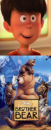Ted Wiggins Likes Brother Bear (2003)