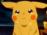 Very sad little Pikachu