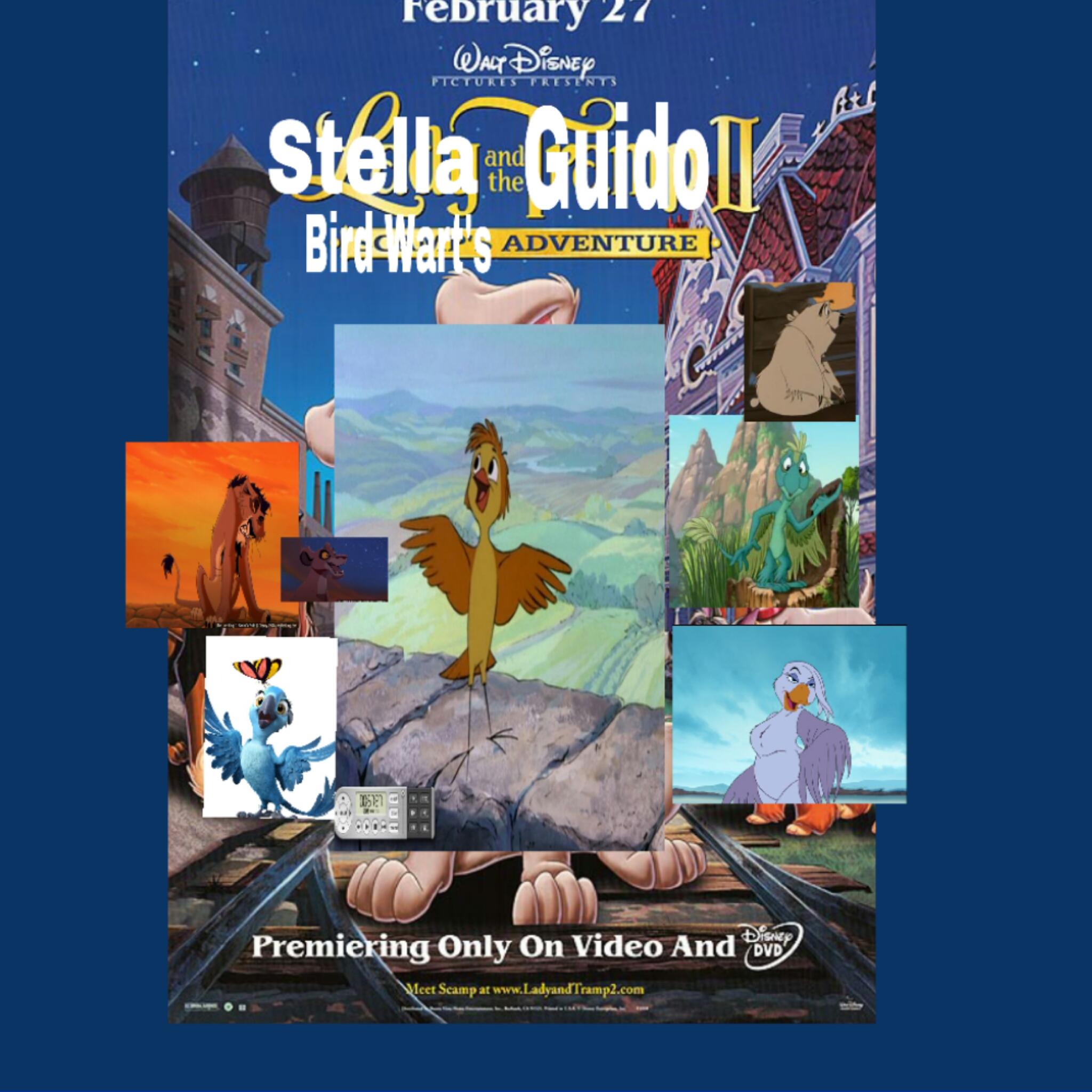 Stella and the Guido 2: Bird Wart's Adventure