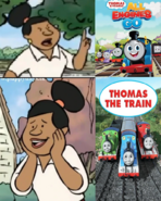 Mrs. Diller Hates Thomas & Friends All Engines Go And Likes Thomas & Friends by Pstephen054