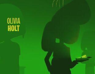 Oliva Holt name voicing incredit title