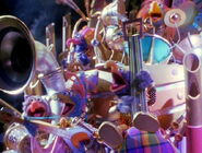The Alien Gonzos sing Celebration