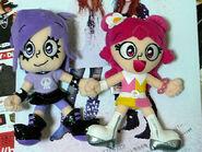 Ami and Yumi Hangable Plushies