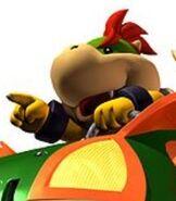 Bowser Jr. in Mario Kart Double Dash