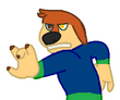 Brodi angry