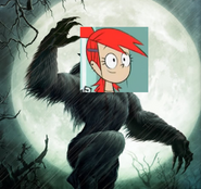 Frankie Foster the werewolf