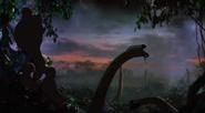 Holocene Park Giraffes Scene
