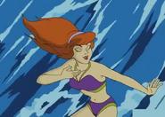 Mrs Daphne in Surf