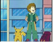 Shaggy and his pikachu (1701movie human style)