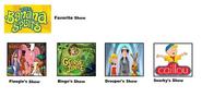 The Banana Splits' Favorite TeleToon Shows