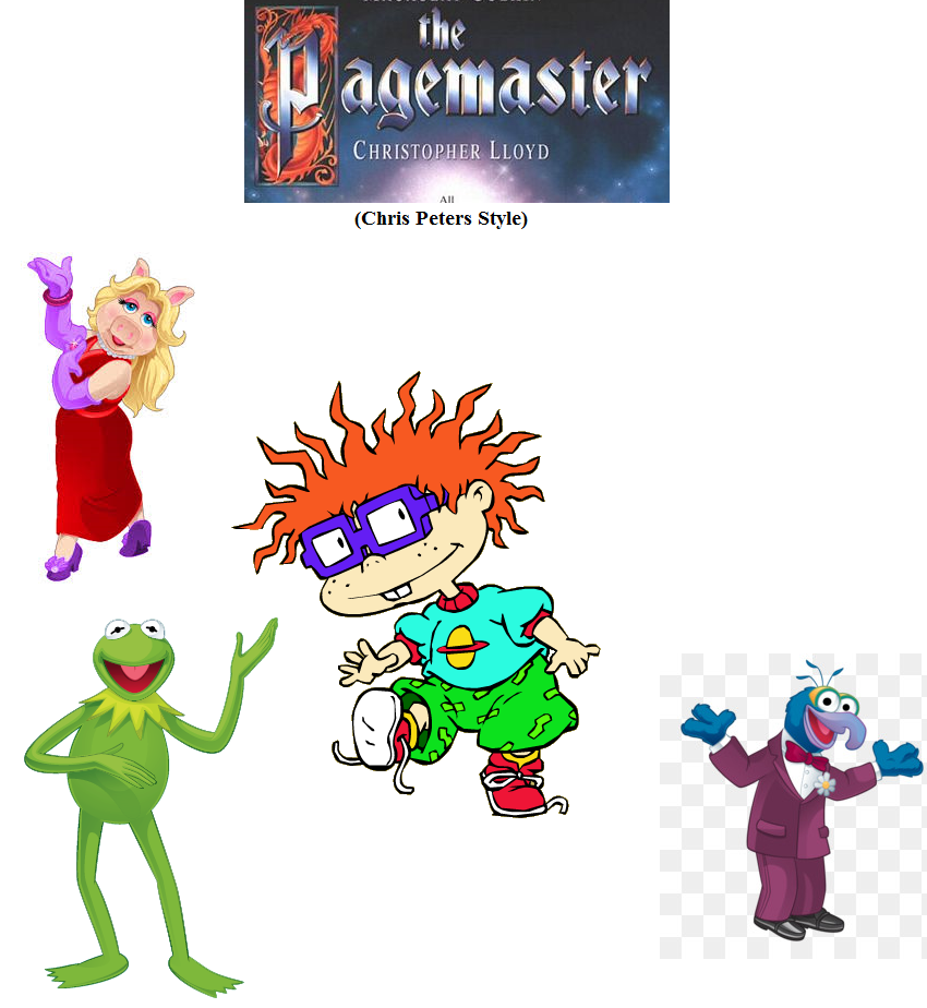 The Pagemaster (Chris Peters Style)