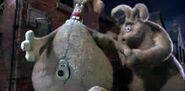 Wallace and gromit curse of the were-rabbit 12 - the were-rabbit kisses the decoy
