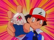 Ash gets the Sea Ruby Badge 9