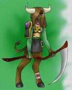 Minotaur - Elemental Warrior of Earth