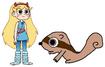 Star meets Chipmunk
