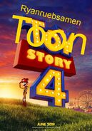 Toon Story 4 Poster