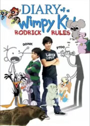 Bugs and Daffy's Adventures of Diary of a Wimpy Kid- Rodrick Rules Poster.jpeg